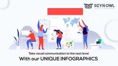 Design unique and contemporary infographic + Unlimited revisions