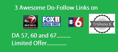 3 DoFollow Links on kswo, fox8live and newschannel6now DA 60 All