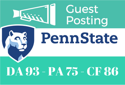 Guest Post on Pennsylvania State University. psu.edu DA 95