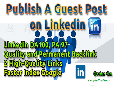 Publish A Guest Post On Linkedin