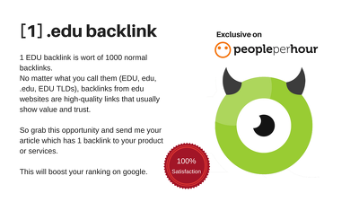 create 1 do-follow EDU backlink for you (Guest Post)