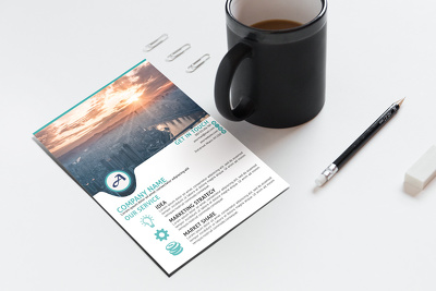 Design professional flyer for your business