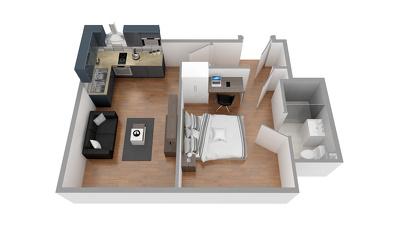 3D Floorplan rendering from your 2D plan or hand sketch