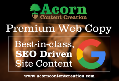 Deliver best-in-class, search engine optimised web copy
