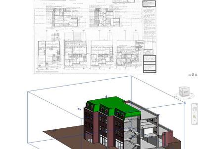 Model 3D revit from PDF