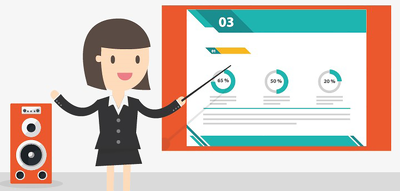 Create and design a professional powerpoint template
