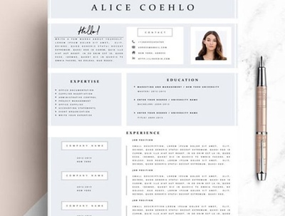 Professionally design your resume.