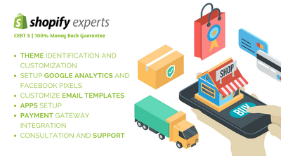 Shopify Expert: Edit, Fix, Customize and Optimize Shopify Store