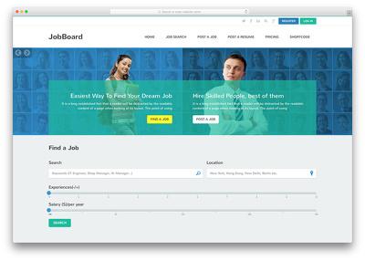 Create Job Board Website in Wordpress For $50 only
