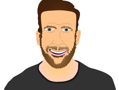 Create an awesome caricature digital or hand drawn (in colour)