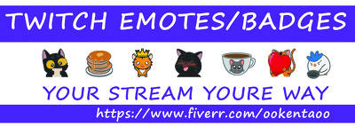 Create 3 Express Custom Twitch Emotes And Or Sub Badges
