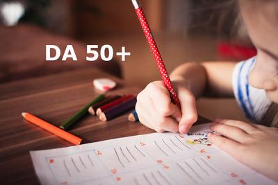 Guest Post On Quality Education Blog DA 50+