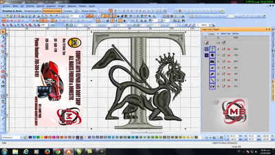 create A Unique Embroidery and Digitizing Design in 2 Hours