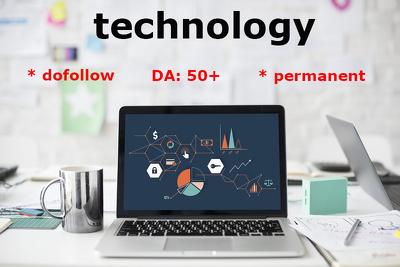 Live Guest Post On Quality Technology Blog DA 50+