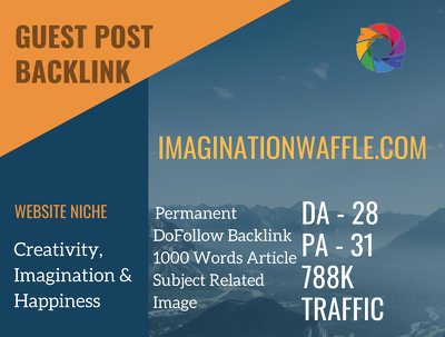 Imagination Related Guest post on imaginationwaffle.com |DA28