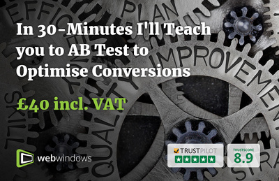 In 30 mins I'll teach you how to AB Test to increase conversions