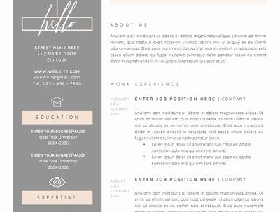 design your CV, Resume