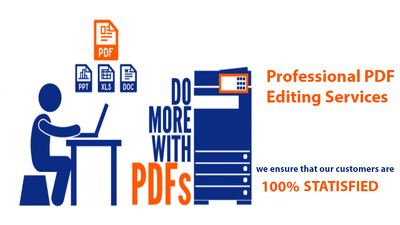 professionally Edit Your PDF Document