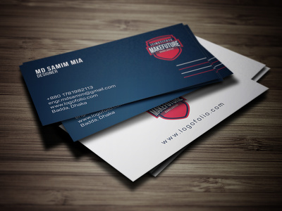 Design Double Sided Business Card with Unlimited Revisions