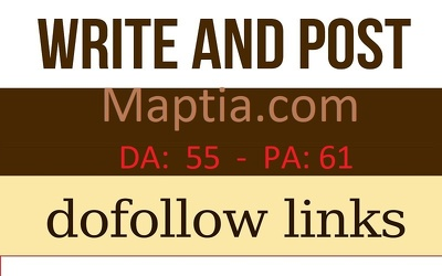 Publish guest post on travel blog maptia.com with dofollow