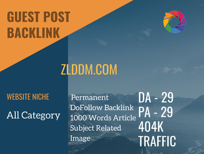 All Category Related Guest post on zlddm.com  | DA29