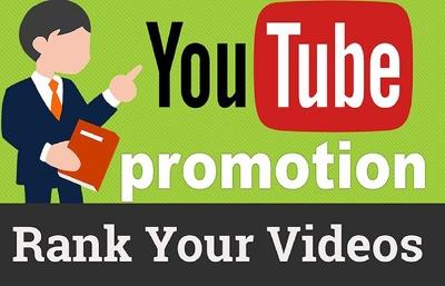 Youtube SEO Campaign- Create Manually High 60 PR9 Backlinks