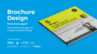 Design an 8 page brochure