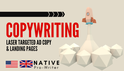 ★ Professional, SEO Copywriting & Ad Content ★