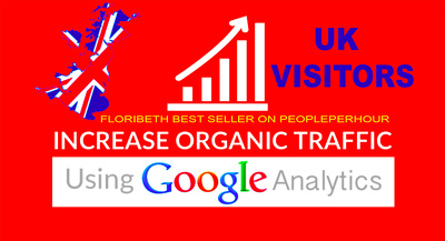 daily UK Keyword Targeted Organic Traffic With Low Bounce Rate