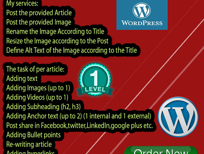 Do Post Articles Or Content In Your Wordpress Site