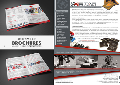"""Design Awesome attractive """"Brochure"""" one page (Flyer)"""