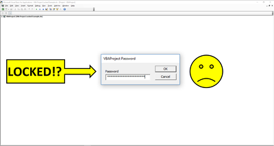 Unlock your Excel VBA project password
