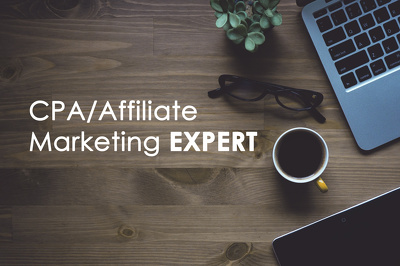 Be your CPA/Affiliate Marketing Expert for 5 days