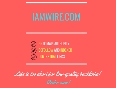 Add a guest post on amwire.com, DA 55