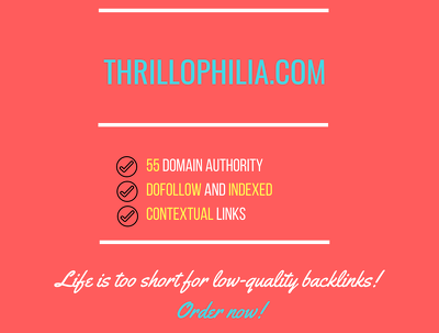 Add a guest post on thrillophilia.com, DA 55