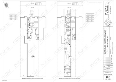 Draw 2D plans using AutoCAD