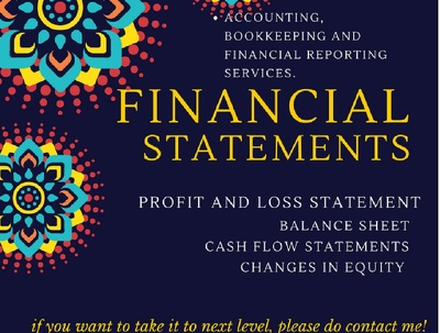 Prepare financial statements, financial reporting & forecasting