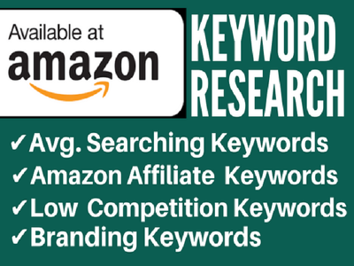 Do Keyword Research for your Amazon product