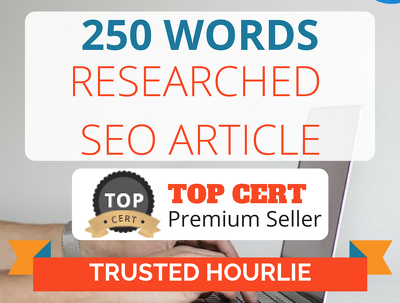 ★ Research & Write 2 SEO articles on any subject|250 words each★