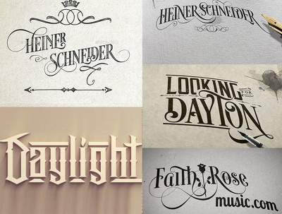 Make beautiful typography designs in 3 versions (up to 5 words)