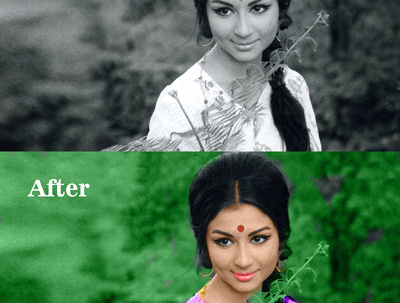 Edit 1 image ( cut out, edit, retouch, recolour / colorize,..