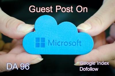 Do Guest Post On Microsoft DA 96