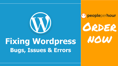 Fix any ERROR in WordPress,bug fixing,solve issues in 1 hour