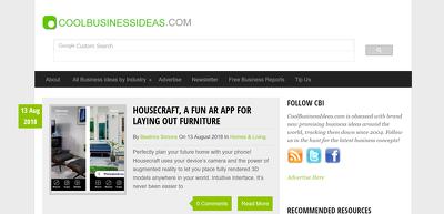 Publish a Guest Post on coolbusinessideas.com DA 52 Dofollow