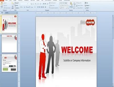 Create a 10 slide PowerPoint