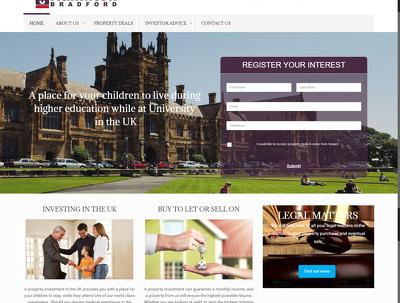 Develop 6 Pages WORD PRESS website