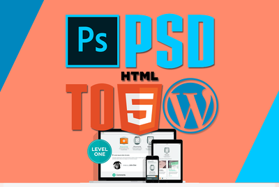 convert your PSD or HTML to responsive wordpress website