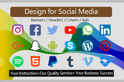 Design Amazing And Unique Social Media Banners, Ads, Covers etc