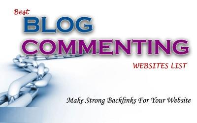 do High Da Pa Blog Comments Back Links