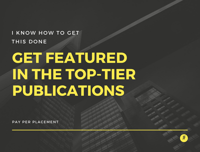 Get your brand featured on Top-Tier Publications